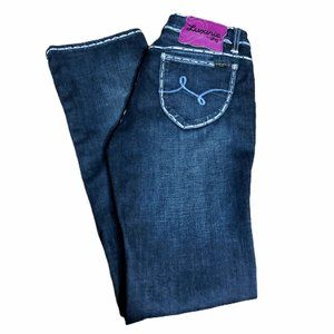 Luxirie Jeans - Luxirie Jeans Juniors 11 Dark Blue Denim Stretch